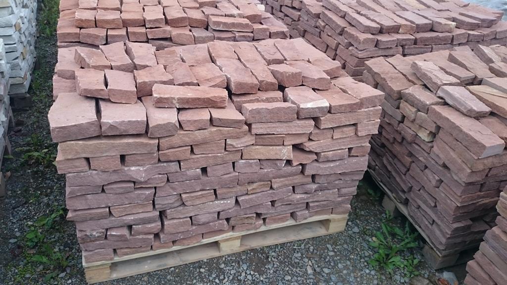 Bardzo dobra Kamień na ogrodzenie, murek, tumliński, cegły YI23